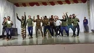 Foji bhai ka dance (rtc ,bhilai)Gajban pani n chali  song