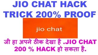 HACK JIO CHAT & EARN 1000 RS PER DAY (***200% PROOF***)