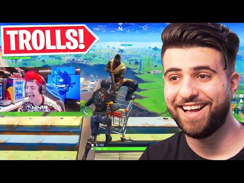 Reacting to the BEST Trolls in Fortnite