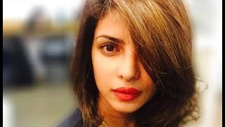 Priyanka Chopra Gets Short Haircut - BT