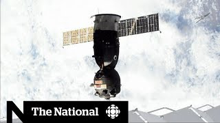 Canadian astronaut David Saint-Jacques begins 400-km journey from ISS to Earth