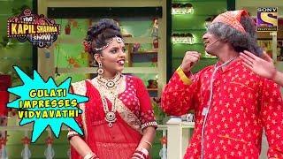 Gulati Impresses Vidyavathi - The Kapil Sharma Show