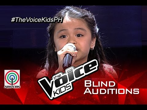 """The Voice Kids Philippines 2015 Blind Audition: """"Home"""" By Esang"""