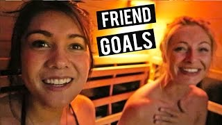GETTING NAKED WITH OLD FRIENDS