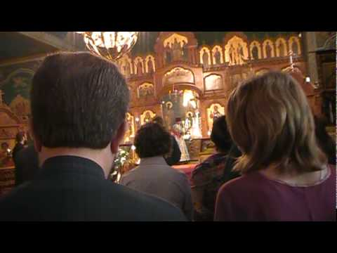 The Beatitudes Divine Liturgy January 23 2010 St. Tikhon s Monastery