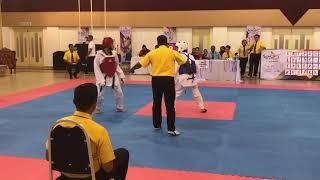 Taekwondo SUKIPT 2018- Muhd Haziq VS Aizzat