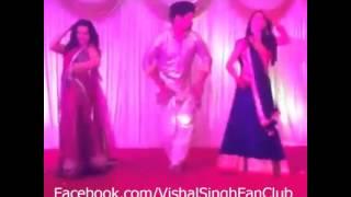 Vishal,Giaa and Rucha dance on Sangeet of Rucha