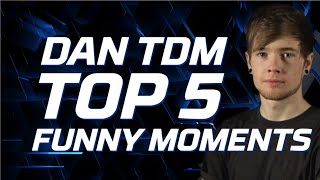DanTDM's Epic Top 5 Funniest Moments | Legends of Gaming