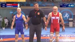 2017 Veteran World Wrestling Championships  Bulgaria  Inarkiev, Apty D cat  78 kgs