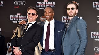 CAPTAIN AMERICA Civil War - It's Pictures Time!  - European Premiere Footage