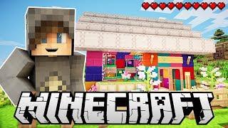 BUILDING MY RAINBOW SHOP! -  One Life Season 2 Minecraft SMP - Ep.11