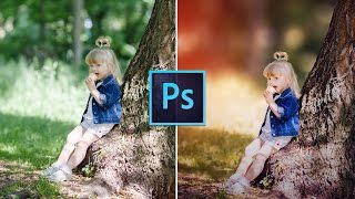 Photoshop Tutorial : How to Edit Outdoor Portrait ( Blur Background )