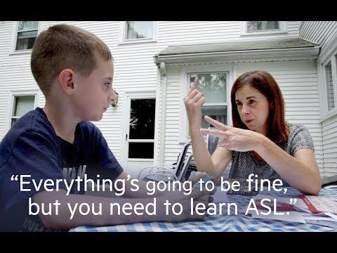 Xxx Mp4 Mother Learns American Sign Language Alongside Deaf Son 3gp Sex