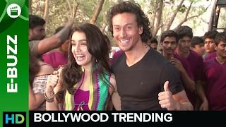 Tiger Shroff and Shraddha Kapoor On Location for Baaghi | Bollywood News | ErosNow eBuzz