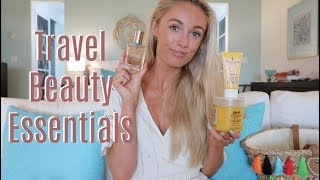 TEN TRAVEL BEAUTY ESSENTIALS    //    What's In My Makeup Bag     //   Fashion Mumblr