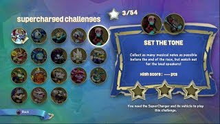 Fiesta & Crypt Crusher - SuperCharged Challenge - Set the Tone - Skylanders SuperChargers