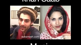 munni vs Khan Saab Dubsmash Challenge