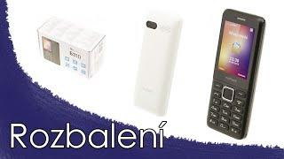 MyPhone 6310 mobilní telefon - Rozbalení