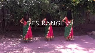 Des Rangila - Independence Day Dance