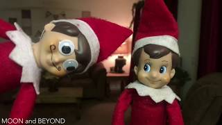 REAL Elf on the Shelf Caught Moving Video Compilation 3.0