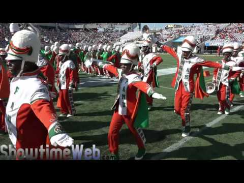 Famu Marching In and Pregame Show - 2016 Florida Classic Game