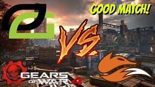 Gears of War 4: EchoFox vs OpTic Gaming | Praized | Pro Match