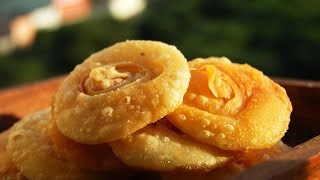 Pathir pheni, Chiroti, Padhir peni - Crispy layered sweet poori