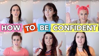 STOP HATING YOURSELF AND START FEELING CONFIDENT - LIFE HACKS