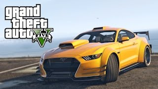 Ford Mustang GT PIMPEN IN GTA 5! (GTA 5 Mods)