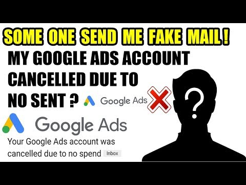 Xxx Mp4 Some One Send Me Fake Mail Full Story Your Google Ads Account Was Cancelled Due To No Spend 3gp Sex