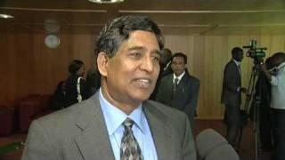 Minister of Food and DM, Bangladesh, Dr Muhammad Abdur Razzaque M.P.
