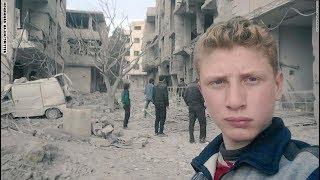 نُقتل بصمتكم.. طفل سوري بنقل معاناة سكان الغوطة الشرقية