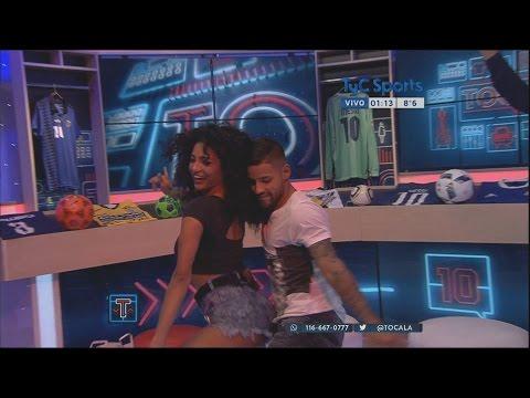 El baile hot de Esparza con Kate Rodríguez en Tocala