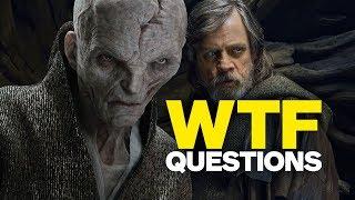Star Wars: The Last Jedi's 6 Biggest WTF Questions