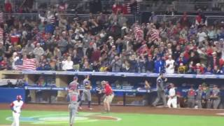 USA eliminates Dominican Republic at 2017 WBC in San Diego