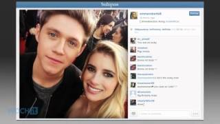 Emma Roberts Geeks Out Meeting One Direction