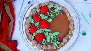 চুলায় তৈরি চকলেট বার্থডে কেক || Bangladeshi Decoration Cake || Chocolate Birthday Cake Bangla