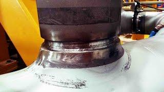 OFFSHORE structures, WELDING stainless steel pipe GTAW /TIG/141 DUPLEX. Spawanie/prefabrykacja