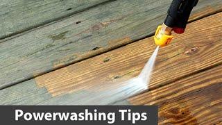Making A  Pressure Washer Turbo Nozzle Last Longer,  Power washing tips,