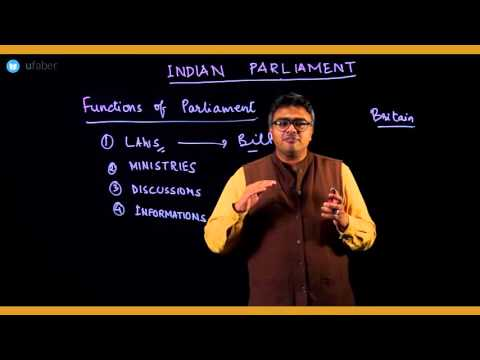 13 Functions of Parliament