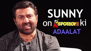 Sunny Deol's EXCLUSIVE Interview on 'SpotboyE Ki Adalaat' | MUST WATCH