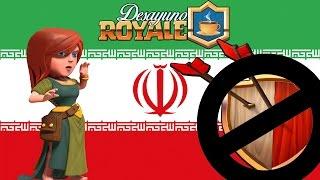 PROHÍBEN CLASH OF CLANS EN IRÁN Y AHORA SE ARREPIENTEN | Desayuno Royale | Clash Royale