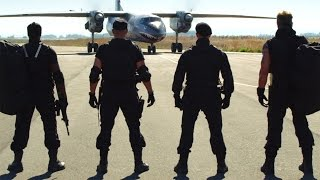 The Expandables 3 Starting Fight Wesley Snipes Return,Beginning Fight(HD)