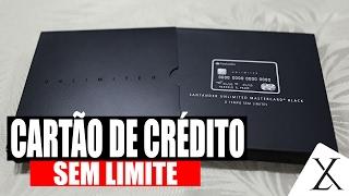 Cartão de Crédito Sem Limite Santander Select Unlimited Master Card Black