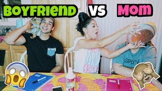WHO KNOWS ME BEST?! BF vs MOM | JAZMINE AND NICK