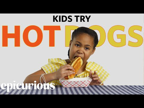 Xxx Mp4 Kids Try Hot Dogs From 10 States 3gp Sex