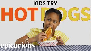 Kids Try Hot Dogs from 10 States | Bon Appétit