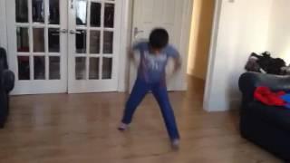 Shahan dancing