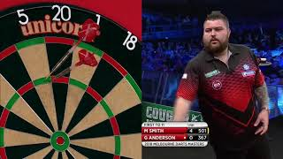 PDC Melbourne Darts Masters 2018 - Michael Smith vs Gary Anderson Part 1/2