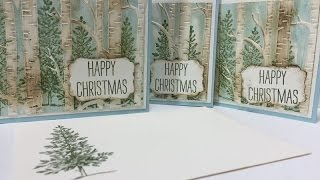 Ophelia Crafts 6 Christmas Cards in 15 minutes, or not?